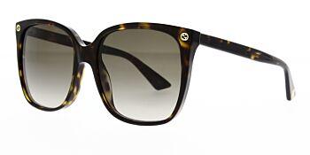 Gucci Sunglasses GG0022S 003 57