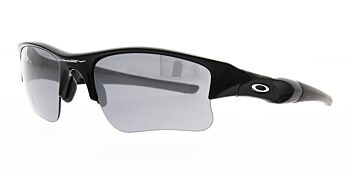 Oakley Sunglasses Flak Jacket XLJ Jet Black/Black Iridium OO9009 03-915