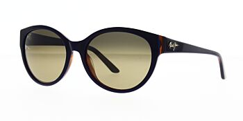 Maui Jim Sunglasses Venus Pools Blue With Rootbeer Interior/HCL Bronze Polarised 58 HS100-03D