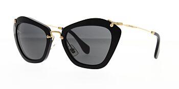 Miu Miu Sunglasses Noir MU 10NS 1AB1A1 55