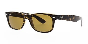 Ray Ban Sunglasses New Wayfarer Tortoise RB2132 710 58