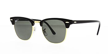 Ray Ban Sunglasses Clubmaster RB3016 901 58 Polarised 49