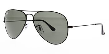 Ray Ban Sunglasses Aviator Large Metal RB3025 002 58 Polarised 58