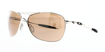 Oakley Sunglasses Crosshair Polished Chrome/VR28 Black Iridium OO4060-02