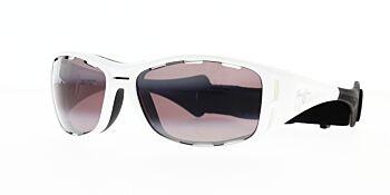 Maui Jim Sunglasses Waterman White/Maui Rose Polarised R410-05 63