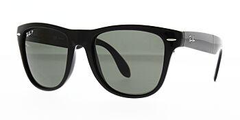 Ray Ban Sunglasses Folding Wayfarer Black RB4105 601 58 Polarised 54