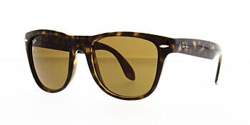 Ray Ban Sunglasses Folding Wayfarer Tortoise RB4105 710 54