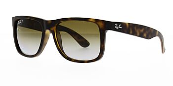 Ray Ban Sunglasses Justin RB4165 865 T5 Polarised 55