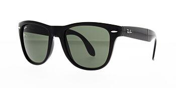 Ray Ban Sunglasses Folding Wayfarer Black RB4105 601 54mm
