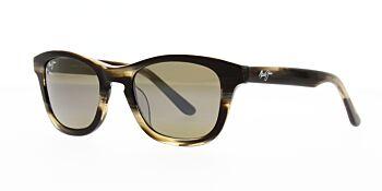 Maui Jim Sunglasses Ka'a Point Chocolate/HCL Bronze Polarised H713-01B