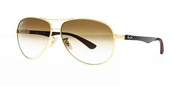 Ray Ban Sunglasses Carbon Fibre RB8313 001 51 58