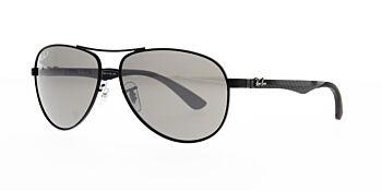 Ray Ban Sunglasses Carbon Fibre RB8313 002 K7 Polarised 58