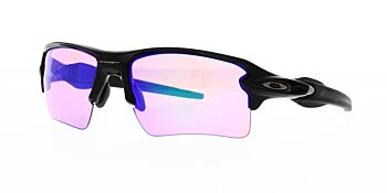 Oakley Sunglasses Flak 2.0 XL Polished Black/Prizm Golf OO9188-0559
