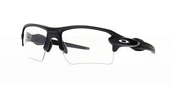 Oakley Sunglasses Flak 2.0XL Steel/Clear Black Iriidium Photochromic 2F OO9188-1659