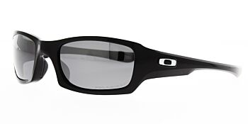Oakley Sunglasses Fives Squared Polished Black/Black Iridium OO9238-06 Polarised 54