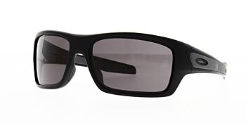 Oakley Sunglasses Turbine Matte Black/Warm Grey OO9263-0163