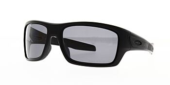 Oakley Sunglasses Turbine Matte Black/Grey Polarised OO9263-0763