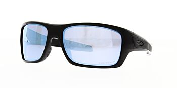 Oakley Sunglasses Turbine Polished Black/Prizm Deep H2O Polarised OO9263-1463
