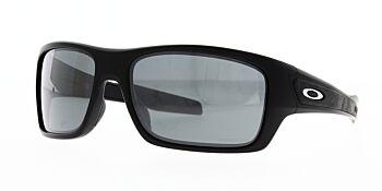 Oakley Sunglasses Turbine Matte Black Prizm Black Iridium OO9263-4263