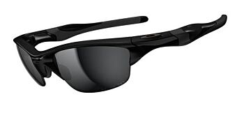 Oakley Sunglasses Half Jacket 2.0 Polished Black-Black Iridium Polarized OO9144-04
