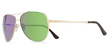 Revo Sunglasses Relay Gold/Green Water Polarised 59