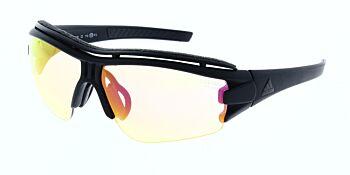 Adidas Sunglasses Evil Eye Halfrim Pro Matte Black LST Bright Vario/Purple Mirror AD07 75 9400 00 XS
