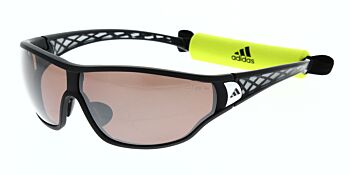Adidas Sunglasses Tycane Pro S Matte Black Pink/Grey Mirror Polarised A190 00 6050 00 00