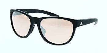 Adidas Sunglasses Wildcharge Matte Black Pink/Grey Mirror A425 00 6051 00 00