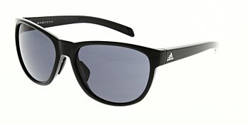 Adidas Sunglasses Wildcharge Shiny Black Grey A425 00 6050 00 00