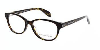 Alexander McQueen Glasses AM0074O 002 52