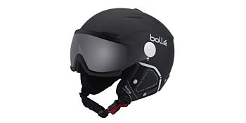 Bolle Snow Helmets Backline Visor Premium Soft Black & White Large 31425