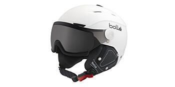 Bolle Snow Helmets Backline Visor Premium Soft White & Black Large 31427
