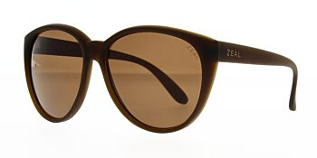 Zeal Sunglasses Dakota Bombay Brown/Copper Polarised 58