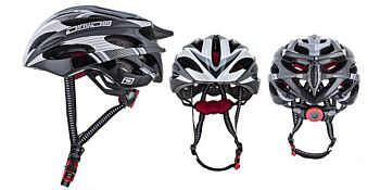 Dirty Dog Cycle Helmet Ballistic Grey White Black S-M 47035