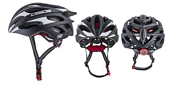 Dirty Dog Cycle Helmet Ballistic Matte Black S-M 47031