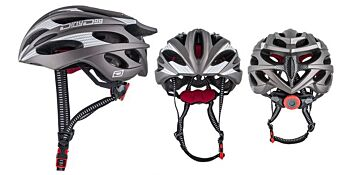 Dirty Dog Cycle Helmet Ballistic Matte Dark Silver L-XL 47034