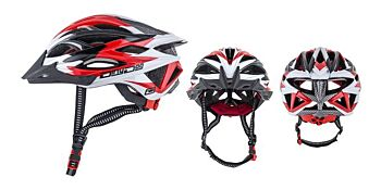 Dirty Dog Cycle Helmet Gremlin Red White Black S-M 47016