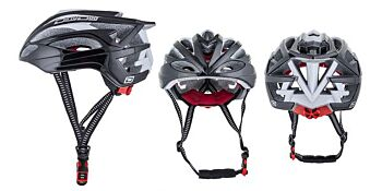 Dirty Dog Cycle Helmet Maverick Black L-XL 47044