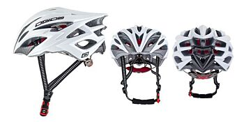 Dirty Dog Cycle Helmet Sprint White S-M 47039