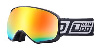 Dirty Dog Eyewear Goggles Bullet Matte Black Frame Photochromic Orange  54246