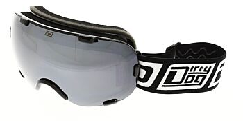 Dirty Dog Goggles Afterburner Black Silver Mirror DD54165