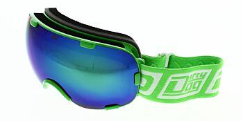 Dirty Dog Ski Goggle Afterburner Green Green Fusion Mirror DD54186