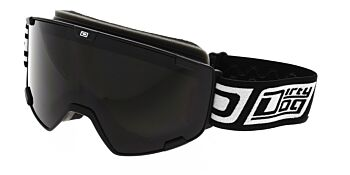 Dirty Dog Goggles Avalanche Matte Black Grey Smoke DD54214