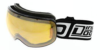 Dirty Dog Ski Goggle Mutant 2.0 Black Silver Mirror/Orange DD54171
