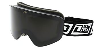 Dirty Dog Goggles Mutant Legacy Matte Black Grey Smoke/Yellow DD54210