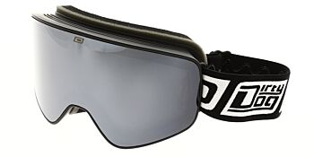 Dirty Dog Goggles Mutant Legacy Matte Black Silver Mirror/Yellow DD54209