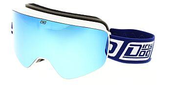 Dirty Dog Goggles Mutant Legacy White Blue Fusion/Yellow DD54211