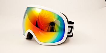 Dirty Dog Ski Goggle Scapegoat White Red Fusion DD54162