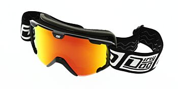 Dirty Dog Ski Goggle Stampede Junior Black Red Fusion Mirror DD54180
