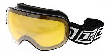 Dirty Dog Ski Goggles Mutant 2.0 Black Green Fusion Mirror/Yellow DD54208